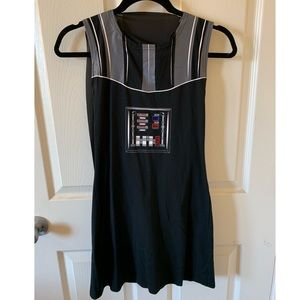 Star Wars Vader Mini Dress Women's Size M